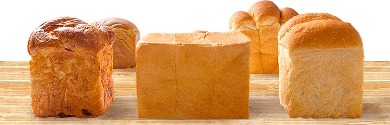 色々な食パンの画像